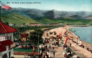 California Santa Barbara The Beach