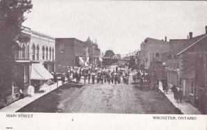 Parade On Main Street, Wroxeter, Ontario, Canada, 1900-1910s