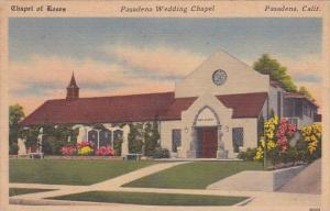 California Pasadena Chapel Of Roses Pasadena Chapel