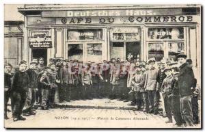 Noyon Postcard Old House Trade German (Deutsches Haus)