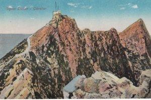 GIBRALTAR , 1900-10s; Signal Station