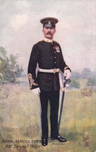 TUCK #9167; Army Service Corps, Rgtl Sergeant Major