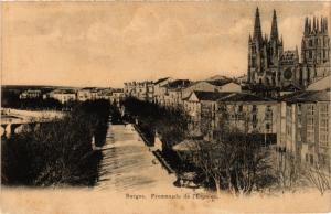CPA Burgos Promenade de l'Espolon SPAIN (744064)