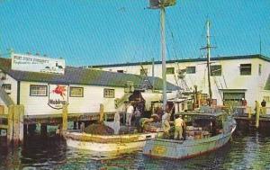 Rhode Island Galilee Fishermen At Dock