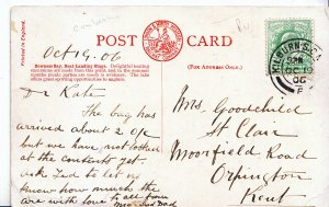 Genealogy Postcard - Family History - Goodchild - Orprington - Kent    U2075