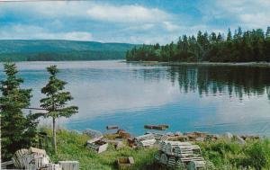 St. Ann's lake, Cabot Trail, CAPE BRETON, Nova Scotia, Canada, 40-60´s