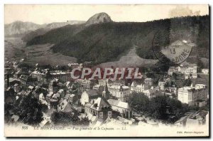 Old Postcard Le Mont Dore Vue Generale And The Capuchin