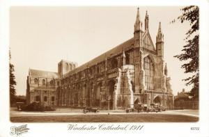 Vintage 1911 Reproduction Postcard, Winchester Cathedral, Hampshire 42U