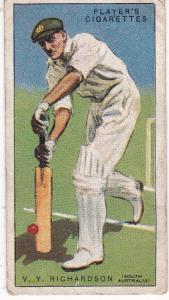 Cigarette Cards Player's Cricketers 1930 No 37 - V Y Richardson