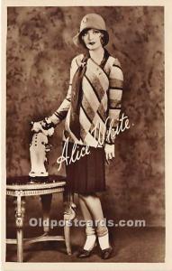 Alice White Theater Actor / Actress Unused