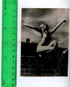 213215 RUSSIA nude girl photo miniature card
