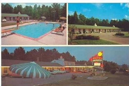 3-View,Motel Emporia,Swimming Pool,Richmond,VA,40-60s