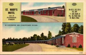 Florida Hilliard St Mary's Motel