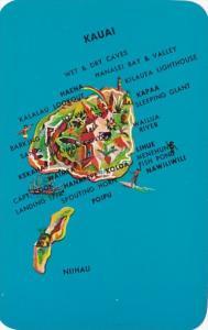 Hawaii Kauai Map