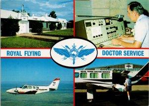 Royal Flying Doctor Service Alice Springs NT Australia Aviation Postcard C5