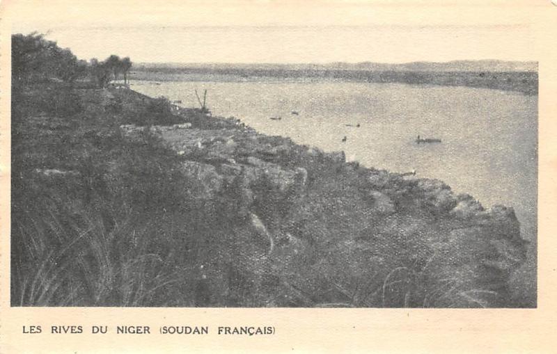 Africa Mali Soudan Francais Les Rives du Niger