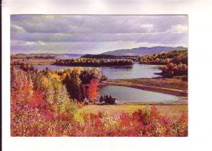 Canada Post Office Pre-stamped Postcard, Autumn in Notre-Dame-du-Laus, Quebec...