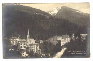 RP  Wildbad-Gastein v. Schwarzenberg-Anlage, Austria, PU-1906