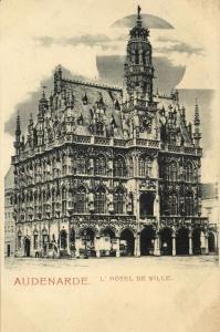 belgium, OUDENAARDE AUDENARDE, Hôtel de Ville, Town Hall (1899)