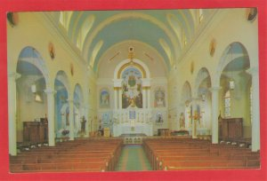 INTERIOR OF NOTRE DAME CHURCH, PHENIX, R.I.  SEE SCAN  109