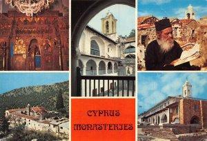 Cyprus Monasteries postcard