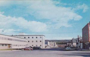 Main Street , WHITEHORSE , Y.T. , Canada , 50-60s