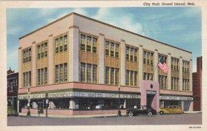 Nebraska Grand Island City Hall Curteich sk1780