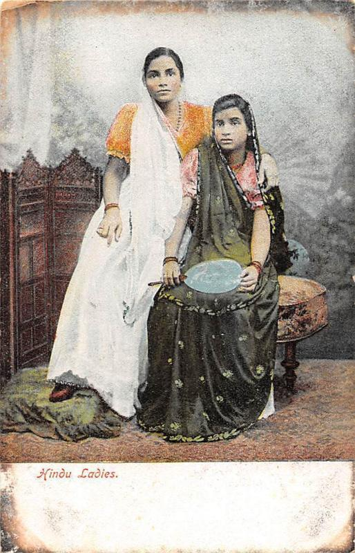 India Hindu Ladies, native women in traditional clothing