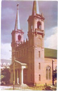 St. Aloysius Church, Spokane, Washington, WA, pre-zip code chrome