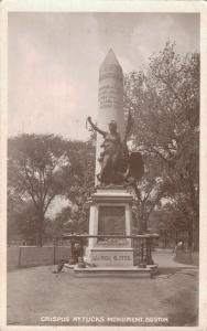 USA Crispus Attucks Monument Boston - 01.85