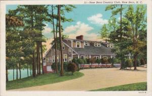 North Carolina New Bern Country Club 1947 Curteich