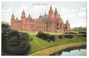 Scotland Glasgow Art Galleries Vintage Bauermeister Postcard
