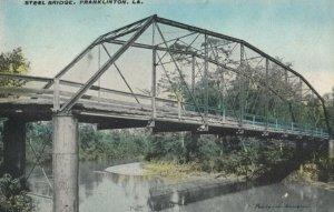 FRANKLINTON , Louisiana, 1912 ; Steel Bridge