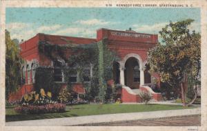 Kennedy Free Library, Spartanburg, South Carolina, 10-20s