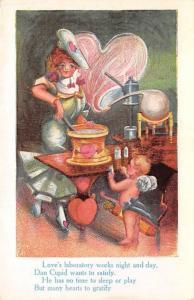 St. Valentines Day Postcard Unused