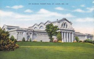 Art Museum Forest Park Saint Louis Missouri