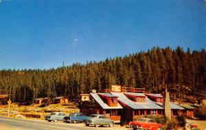 Grand Lake Colorado~Southway Lodge~Cabins & Dining Room~Catch a Trout~1950s Cars