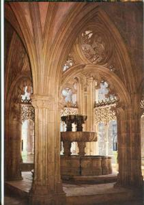 Portugal, BATALHA, Monastery, Washing-room of the Royal Cloister, Postcard