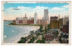 Chicago, Lake Shore Drive And Oak Street Beach