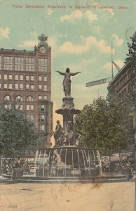 CINCINNATI , Ohio, 1900-10s ; Tyler Davidson Fountain, version 2