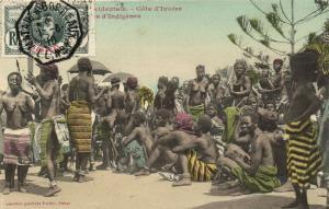 CPA Senegal Ethnic Nude Fortier - Cote d'Ivoire, d'Indigénes (71133)