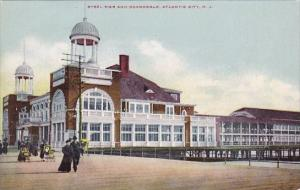 New Jersey Atlantic City Steel Pier And Boardwalk