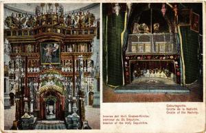 CPA Interieur der Heilig-Grabkirche ISRAEL JERUSALEM (751736)