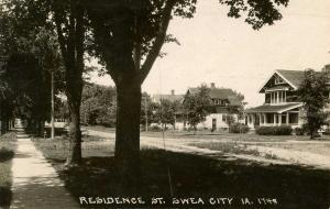 IA - Swea City. Residential Street   *RPPC