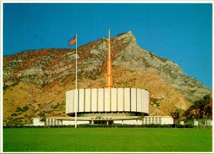 Provo UT Temple of the Church LDS Postcard Unused (28144)
