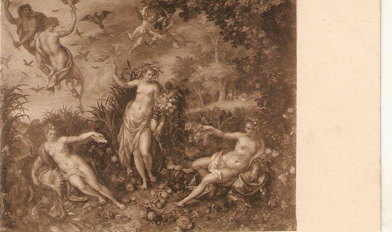 ·J.Brueghel. Los Cuatro Elementos Fine paintin vinage Spanish PC