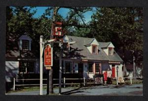 PA Rocking Chair Gift Shop MOUNTAINHOME PENN Postcard Pennsylvania