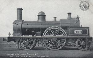 Passenger Train Engine PRESIDENT , UK , 1900-10s