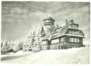 Czech Republic, ORLICKY, Chata na Suchem vrchu, used real photo Postcard