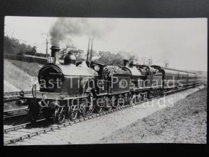 Midland Railway MR Steam Locomotives No.653 & No.715 RP Photocard 120515